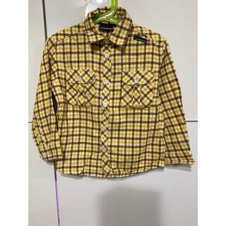 クイックシルバー(QUIKSILVER)のQUIKSILVER☆クイックシルバー チェック柄シャツ☆110cm(Tシャツ/カットソー)