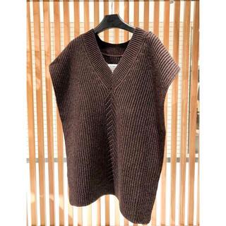 マルタンマルジェラ(Maison Martin Margiela)のmaison margiela knit vest(ニット/セーター)