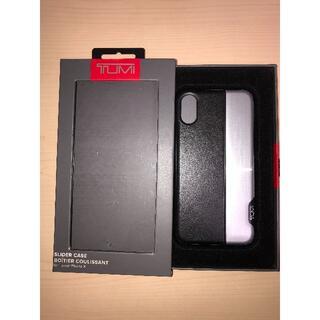 トゥミ(TUMI)の新品/未使用 TUMI トゥミ iPhone X スマホケース(iPhoneケース)