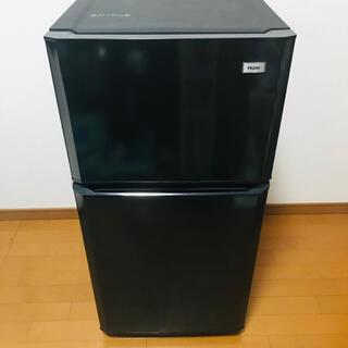 Haier - 2ドア 冷凍冷蔵庫 Haier ハイアール JR-N106H(K)