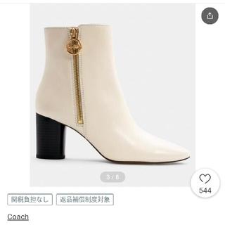 コーチ(COACH)の更にお値下げ♥コーチ今季ブーツ美品(ブーツ)
