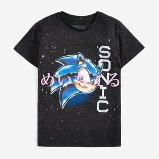 セガ(SEGA)の【新品】ブラック ソニック・ザ・ヘッジホッグTシャツ(オールド)(Tシャツ/カットソー)