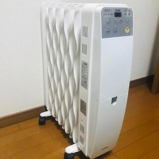 アイリスオーヤマ(アイリスオーヤマ)のIRIS IWH-1210M-W オイルヒータ アイリスオーヤマ ヒーター(オイルヒーター)