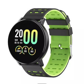 ◆ bluetoothスマートウォッチ《グリーン》◆(腕時計(デジタル))