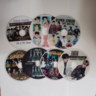 スーパージュニア(SUPER JUNIOR)のSUPER JUNIOR DVD7枚(ミュージック)
