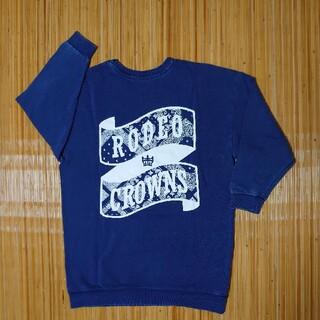 ロデオクラウンズ(RODEO CROWNS)の長めのトレーナー(トレーナー/スウェット)