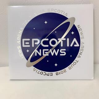 ジャニーズ(Johnny's)のNEWS EPCOTIA 初回盤DVD(ミュージック)