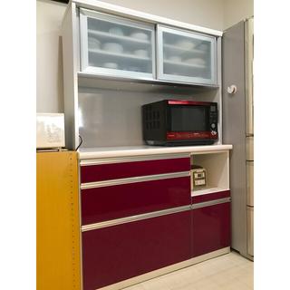 ニトリ(ニトリ)の食器棚 120幅(キッチン収納)
