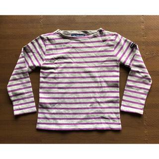 セントジェームス(SAINT JAMES)の美品■セントジェームス kids バクスシャツ 8ans(Tシャツ/カットソー)