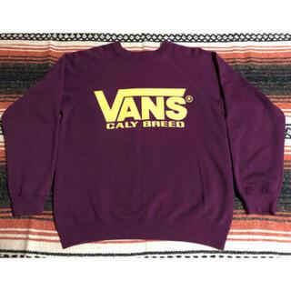 ヴァンズ(VANS)の80's 90's  vans スウェット トレーナー ビンテージ ヘインズ(スウェット)
