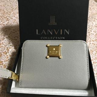 LANVIN COLLECTION ミニ財布(新品未使用品)