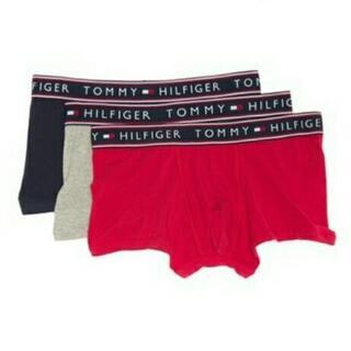 トミーヒルフィガー(TOMMY HILFIGER)のTOMMYHILFIGER ボクサートランクスSサイズ3枚セット新品(ボクサーパンツ)
