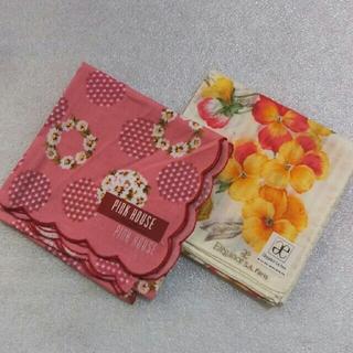 ピンクハウス(PINK HOUSE)の値下げ📌ピンクハウス&エレガンス☆ハンカチ2枚セット(ハンカチ)