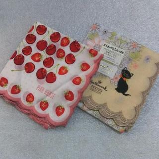 ピンクハウス(PINK HOUSE)のピンクハウス&ホールマーク☆ハンカチ2枚セット(ハンカチ)