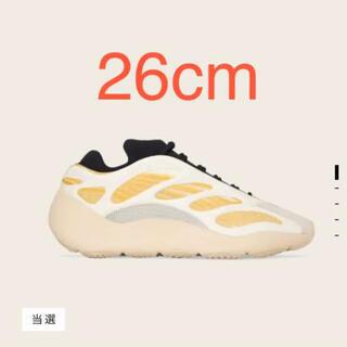 アディダス(adidas)のadidas YEEZY 700 V3 SAFFLOWERイージーブースト700(スニーカー)
