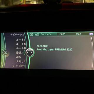 ビーエムダブリュー(BMW)のBMW CIC  ナビ データ X6 X5 JAPAN PREMIUM 2020(カーナビ/カーテレビ)