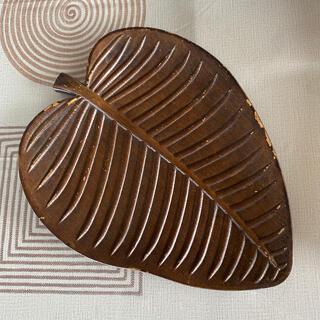 ニトリ(ニトリ)のニトリ  リーフ 木製トレイ トレー(インテリア雑貨)