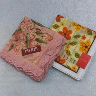 ピンクハウス(PINK HOUSE)のピンクハウス&GUESS☆ハンカチ2枚セット(ハンカチ)