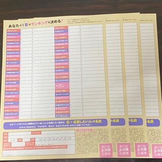 Myojo 2021年1月号 Jr.大賞 応募券+応募用紙(アイドルグッズ)