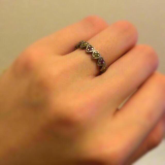 ANNA SUI(アナスイ)のアナスイ ピンキー ルビーリング レディースのアクセサリー(リング(指輪))の商品写真