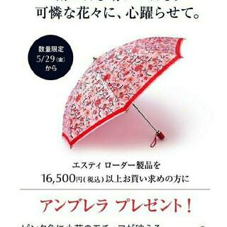 エスティローダー(Estee Lauder)のエスティローダー✨折り畳み傘(その他)
