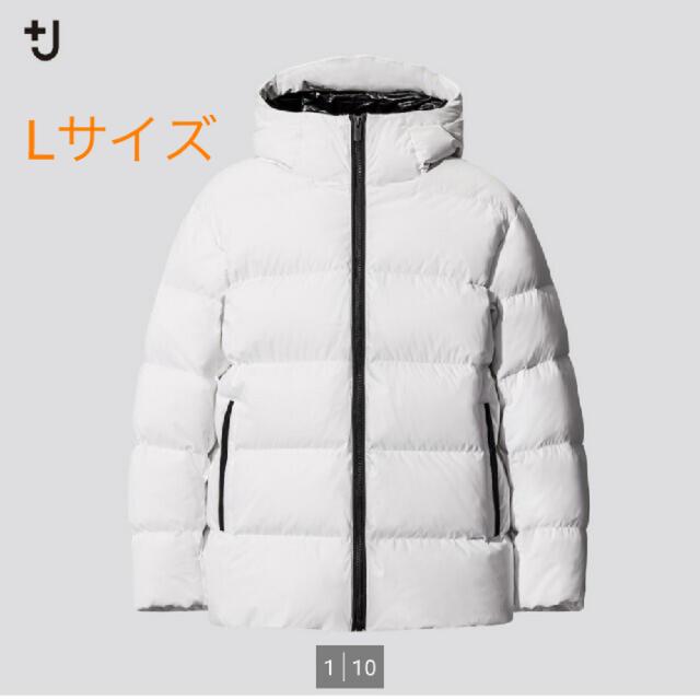 Jil Sander(ジルサンダー)のユニクロ +J ジルサンダーコラボライトダウンボリュームパーカ メンズのジャケット/アウター(ダウンジャケット)の商品写真