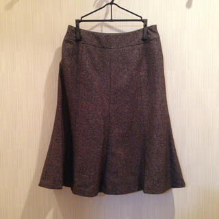 ミッシェルクラン(MICHEL KLEIN)のミッシェル クラン マーメイドスカート 36号(ひざ丈スカート)