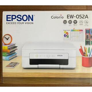 EPSON - エプソン EW-052A インクジェットプリンター カラリオ ホワイト
