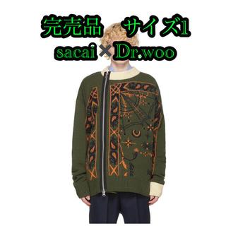 sacai - sacai dr.woo サカイ NIKE ナイキ vapor waffle