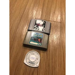 ニンテンドウ64(NINTENDO 64)のPSP ニンテンドー64 どうぶつの森 ファイナルファンタジーⅦ クライシスコア(家庭用ゲームソフト)