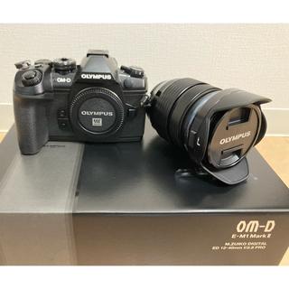 オリンパス(OLYMPUS)のkiri様専用!美品OM-D E-M1MarkII12-40mmF2.8キット(ミラーレス一眼)