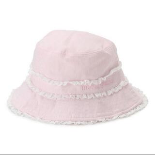 メゾピアノ(mezzo piano)のメゾピアノ 帽子 UVカット(帽子)
