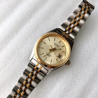 オリエント(ORIENT)のオリエント  レディースクォーツ腕時計 蓄光あり 稼動品(腕時計)