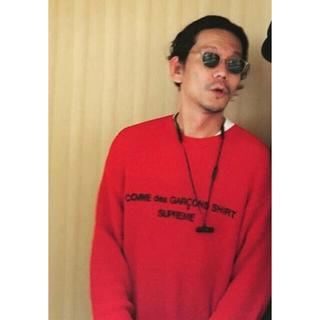 シュプリーム(Supreme)の18aw M Supreme Garcons Sweater Red(ニット/セーター)