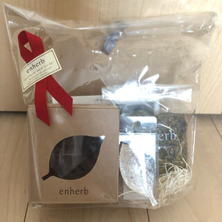 enherb 茶葉50g ハーブティー専用カップ ティースプーン(茶)
