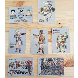 スクウェアエニックス(SQUARE ENIX)のクロノトリガー 予約特典特製 カード 7枚(カード)