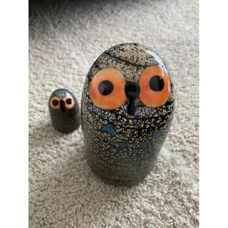 イッタラ(iittala)のnaruさま専用です* Birds by Toikka Barn Owl(ガラス)