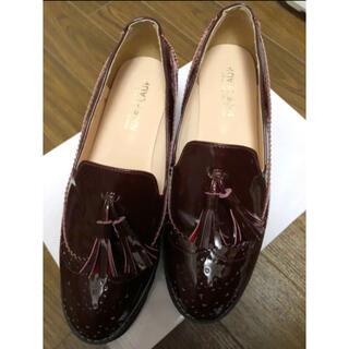 ナイスクラップ(NICE CLAUP)のナイスクラップ ウィングチップ厚底シューズ(ローファー/革靴)