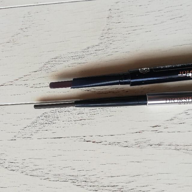 Christian Dior(クリスチャンディオール)のDior  アイライナー ディオール ショウ  ペンシル ブラウン系 2本 コスメ/美容のベースメイク/化粧品(アイライナー)の商品写真