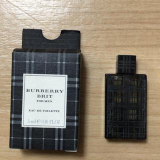 バーバリー(BURBERRY)のBURBERRY バーバリー ブリット フォーメン 香水 5ml(香水(男性用))