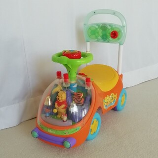 ディズニー(Disney)の*くまのプーさん ハッピーベル 手押し車 子どもプレゼント(手押し車/カタカタ)