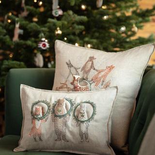アッシュペーフランス(H.P.FRANCE)のcoral&tusk クッションカバー コーラルアンドタスク クリスマス(クッションカバー)