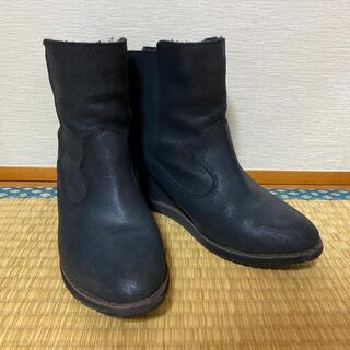エミュー(EMU)のEMUムートンブーツ インヒールタイプ(ブーツ)