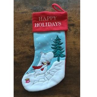 KALDI - ムーミン クリスマス ファブリック ソックス 靴下 KALDI