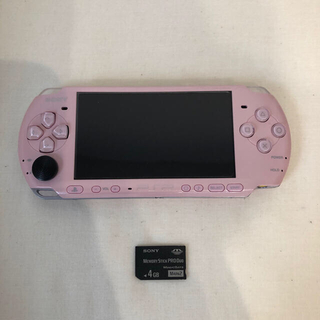 SONY - PSP 3000 ブロッサムピンク