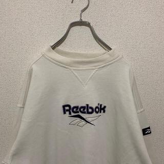 リーボック(Reebok)の【Reebok】スウェット 刺繍 オーバーサイズ(スウェット)