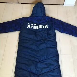 ATHLETA ベンチコート メンズMサイズ 色:ネイビー