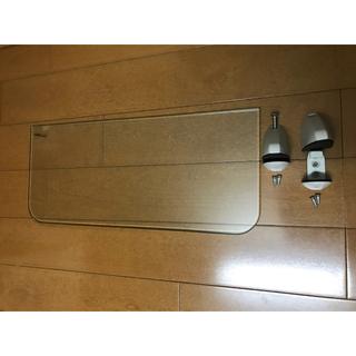 インテリア 透明ガラス棚板 (棚/ラック/タンス)