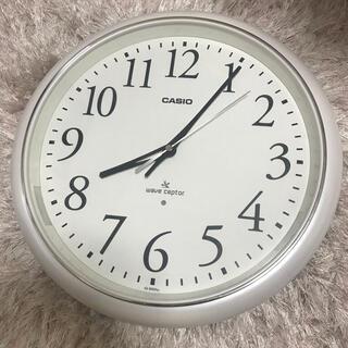 カシオ(CASIO)のCASIO 電波壁掛け時計(掛時計/柱時計)