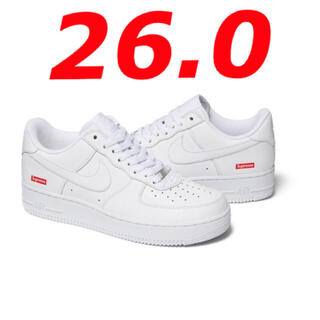 Supreme - Supreme air force 1 AF1 エア フォース 白 26cm